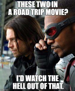 Bucky Falcon Road Trip